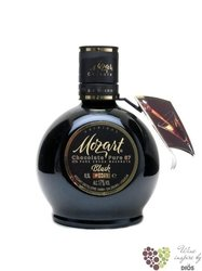 "Mozart "" Black "" original Chocolate Pure 87 % Austrian liqueur 17% vol.   0.50 l"