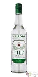 """Aalborg """" Dild """" original Dansk aquavit 38% vol.  0.70 l"""