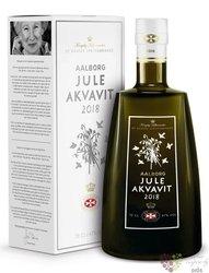 """Aalborg """" Jule 2012 """" original Dansk aquavit 47% vol.  0.70 l"""