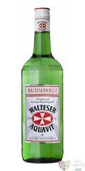 Malteser Kreuz original German aquavit 40% vol.    1.00 l