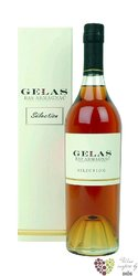 "Maison Gélas "" Selection "" 2 glass wood pack Bas Armagnac 40% vol.   0.70 l"