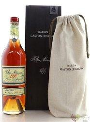 Baron Gaston Legrand 1952 Bas Armagnac 40% vol.    0.70 l