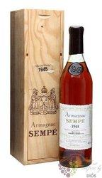Sempé 1983 vintage Bas Armagnac 40% vol.  0.70 l