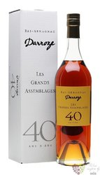 "Darroze "" Grands assemblages "" aged 40 years Bas Armagnac Aoc 43% vol.  0.70 l"