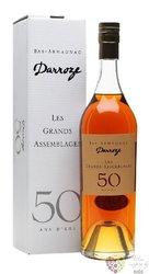 "Darroze "" Grands assemblages "" aged 50 years Bas Armagnac Aoc 43% vol.  0.70 l"