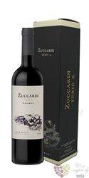 """Malbec """" serie A """" gift box Mendoza Do familia Zuccardi  0.75 l"""