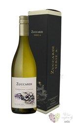 """Chardonnay Viognier """" serie A """" gift box Mendoza Valle de Uco Do familia Zuccardi  0.75 l"""