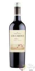 """Malbec """" los Cardos """" 2015 Argentina Mendoza viňa Doňa Paula    0.75 l"""