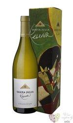 """Chardonnay reserva """" Santa Julia """" gift box Mendoza Do familia Zuccardi  0.75 l"""