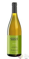 """Sauvignon blanc Blanc de Cal """" Eggo """" 2015 Tupungato valley bodegas Zorzal  0.75 l"""