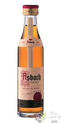 "Asbach "" Uralt "" German aged wine brandy by Hugo Asbach 38% vol.   0.04 l"