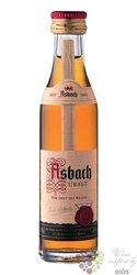 "Asbach "" Uralt "" German aged wine brandy by Hugo Asbach 38% vol.   0.04 l"
