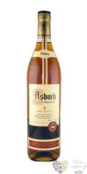 "Asbach "" Uralt "" aged 3 years German wine brandy tin box by Hugo Asbach 38% vol.  0.70 l"