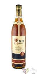 "Asbach "" Uralt "" aged 3 years German wine brandy tin box by Hugo Asbach 38% vol.  0.70 l"