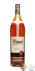 "Asbach "" Uralt "" German aged wine brandy by Hugo Asbach 38% vol.   3.00 l"