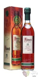 Asbach 15 years old German aged wine brandy by Hugo Asbach 40% vol.   0.70 l