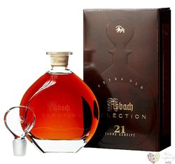 """Asbach """" Selection """" aged 21 years  German wine brandy by Hugo Asbach 38% vol.0.70 l"""