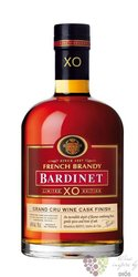 "Bardinet "" XO Grand cru wine cask finish "" French wine brandy 40% vol.   0.70 l"