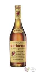 Weinbrand Mariacron premium German wine brandy 36% vol.    1.00 l