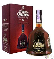 "Brandy de Jerez solera gran reserva "" Conde de Osborne "" Spanish brandy 40.5% vol.  0.70 l"