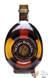 "Vecchia Romagna "" Etiqueta nera "" ancien Italian wine brandy 40% vol.  1.00 l"