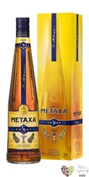 "Metaxa 5 * "" Classic stars "" gift box Greek wine brandy 38% vol.  0.70 l"