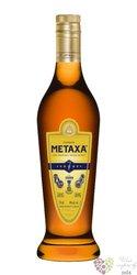 """Metaxa 7 * """" Amphora stars """" premium Greek brandy 40% vol.    0.70 l"""
