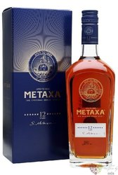 "Metaxa 12 * "" S.Metaxa "" gift box premium Greek spirit 40% vol.  0.70 l"
