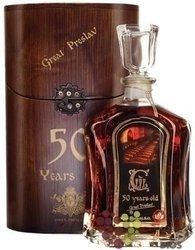 Preslav 50 years old The Bulgarian brandy by Vinex Preslav 40% Vol.   0.50 l