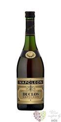 "Duclos"" Napoleon "" clear bottle French brandy 36% vol.    0.70 l"