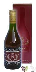"Cardinal "" Napoleon "" gift box French wine brandy 36% vol.    0.70 l"