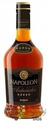 "Napoleon "" Ambasador "" Five Stars The Italian grape brandy 30% Vol.    0.70 l"