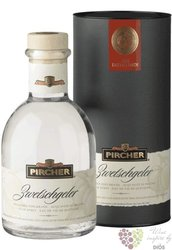 "Pircher "" Zwetchgeler "" South Tyrol plum brandy 40% vol.  0.70 l"