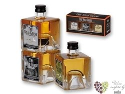 "Wild Geese "" Collection "" luxury set of Irish whiskey  43% vol.   3 x 0.05 l"