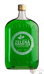 """Bartida """" Zelená Peprmint """" moravian mint liqueur 20% vol. 1.00 l"""