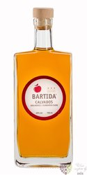 "Bartida "" Calvados "" aged 3 years apple brandy 40% vol.  0.70 l"