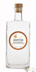 "Bartida "" Meruňkovice "" moravian apricot brandy 43% vol.  0.70 l"