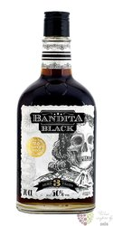 "Bandita "" Black "" navy spiced aged 3 years moravian spirit 50% vol.  0.70 l"