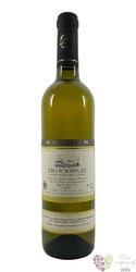 Chardonnay 2017 pozdní sběr z vinařství Radomil Baloun Velké Pavlovice    0.75 l