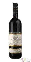 Cabernet Sauvignon 2017 pozdní sběr  z vinařství Radomil Baloun Velké Pavlovice0.75 l