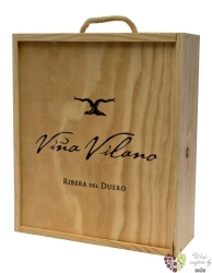 Wood box for 3 bottles 0.75 l by Viňa Vilano