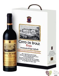 "Paper box "" Bodegas El Coto de Rioja "" for 3 bottles    0.75 l"