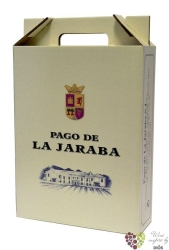 "Paper box "" Bodegas Pago de la Jaraba "" for 3 bottles   0.75 l"