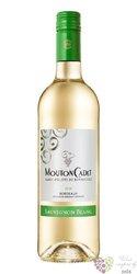 """Bordeaux blanc """" Mouton Cadet Sauvignon blanc """" Aoc 2018 Baron Philippe de Rothschild  0.75 l"""