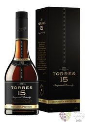 "Brandy de Catalunya "" Reserva privada "" aged 15 years Miguel Torres 38% vol.  1.00 l"