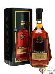 "Brandy de Catalunya "" XO Hors d´Age "" aged 20 years Miguel Torres 40% vol.  0.70 l"