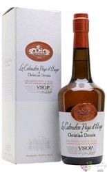 """Christian Drouin """" VSOP """" Calvados do Pays d´Auge 40% vol.  0.70 l"""