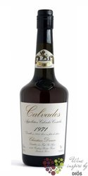 Christian Drouin 1980 vintage dated Calvados do Pays d´Auge 42% vol.  0.70 l