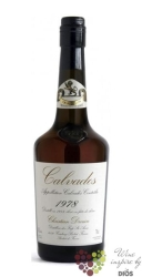 Christian Drouin 1978 vintage dated Calvados do Pays d´Auge 42% vol.  0.70 l