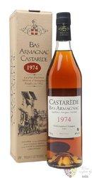 Castarede 1975 vintage Bas Armagnac 40% vol.  0.70 l